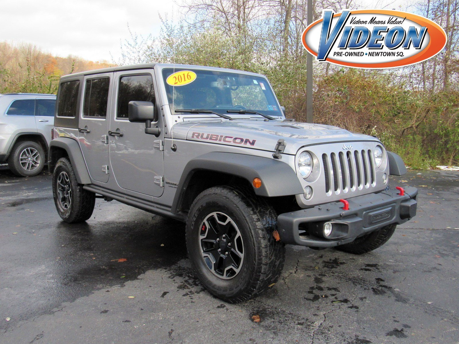 Certified Pre-Owned 2016 Jeep Wrangler Unlimited Rubicon Hard Rock