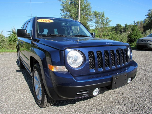 CERTIFIED PRE-OWNED 2016 JEEP PATRIOT SPORT FWD SPORT UTILITY