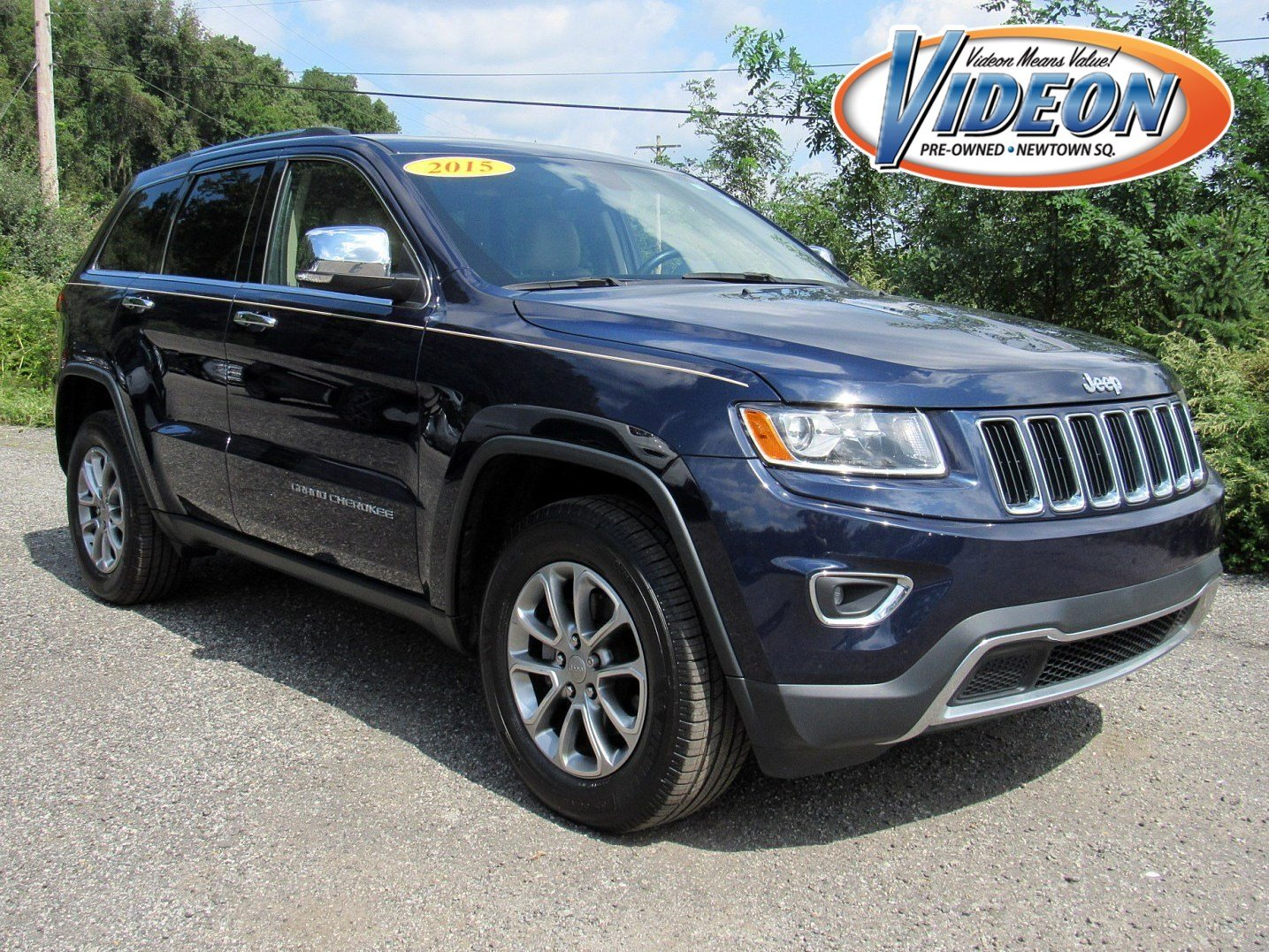 Certified Pre Owned 2015 Jeep Grand Cherokee Limited