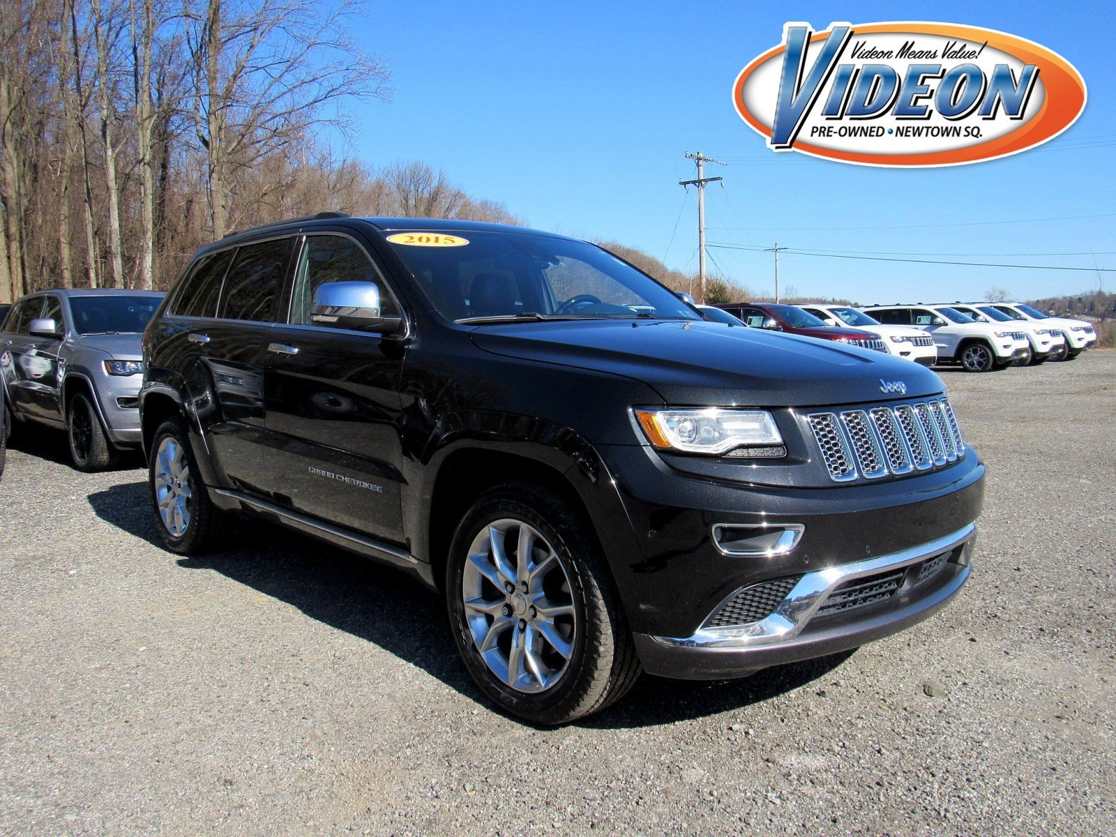 Certified Pre-Owned 2015 Jeep Grand Cherokee Summit